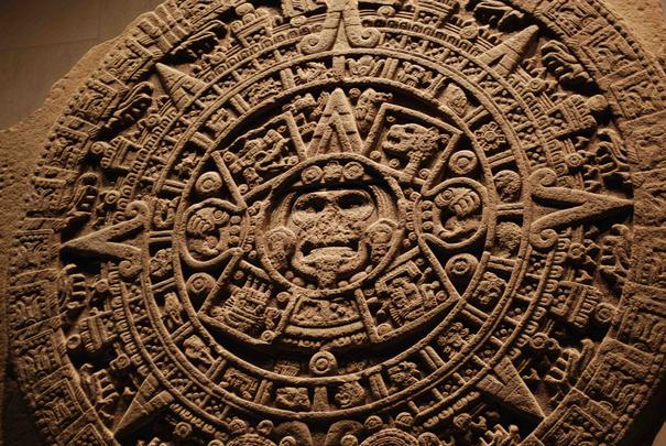 photo of Mayan calendar